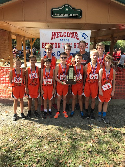 2017 Waterloo Jr                           High State Champs - Boys