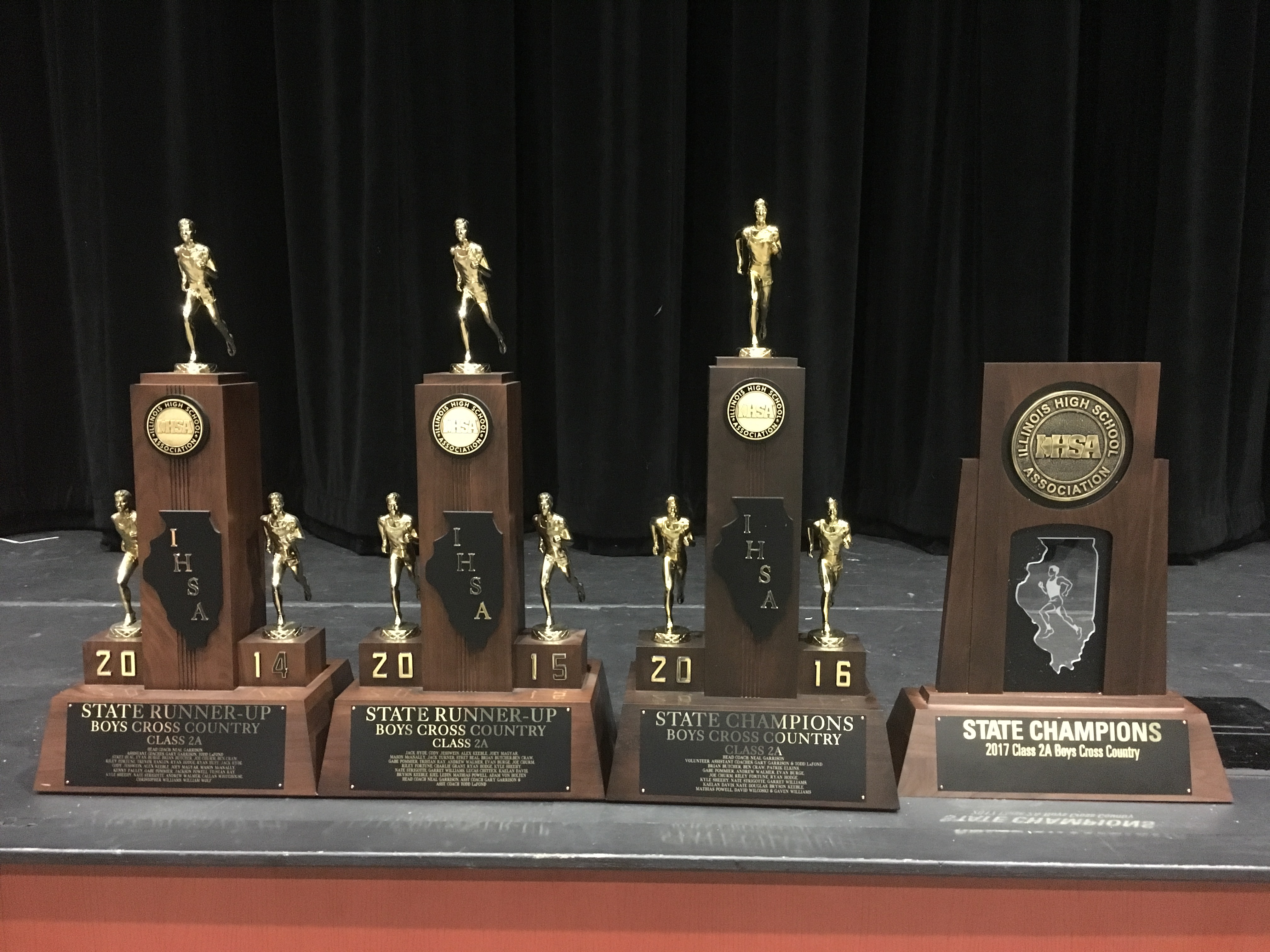 4 State Trophies
